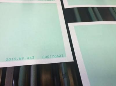 Group Joos Security Printing unique numbering colour 1
